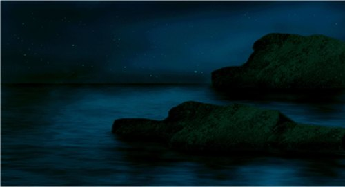 beautiful night landscape photomanipulation by nisha gandhi