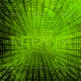 green internet abstract background