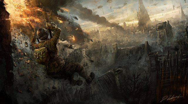 military man war