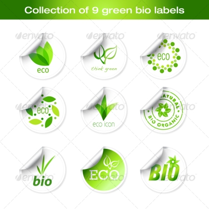 green bio stock images