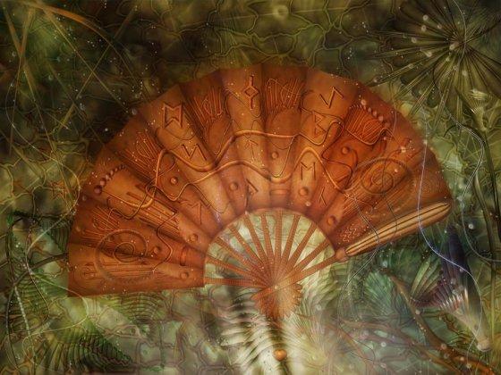 magical fan by cornelia