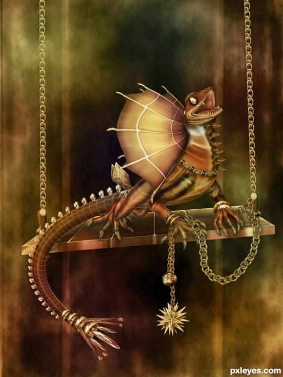 lonely dragon fantasy