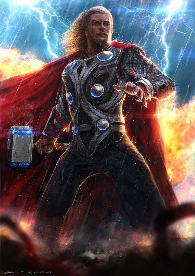 avengers movie fan art