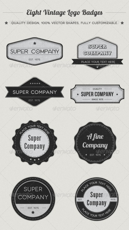 logo labels and stickers