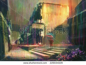 stock-photo-digital-painting-showing-colorful-rain-220034029