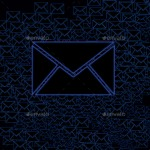 blue inbox email icon stock image by nisha gandhi