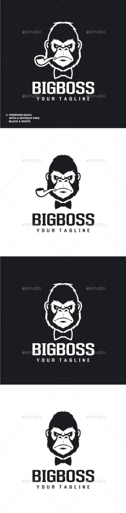 Big boss- gorilla logo