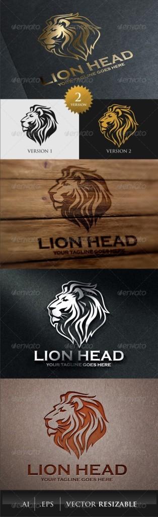 lion animal logos
