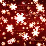 Red christmas background photoshop tutorial by nishagandhi